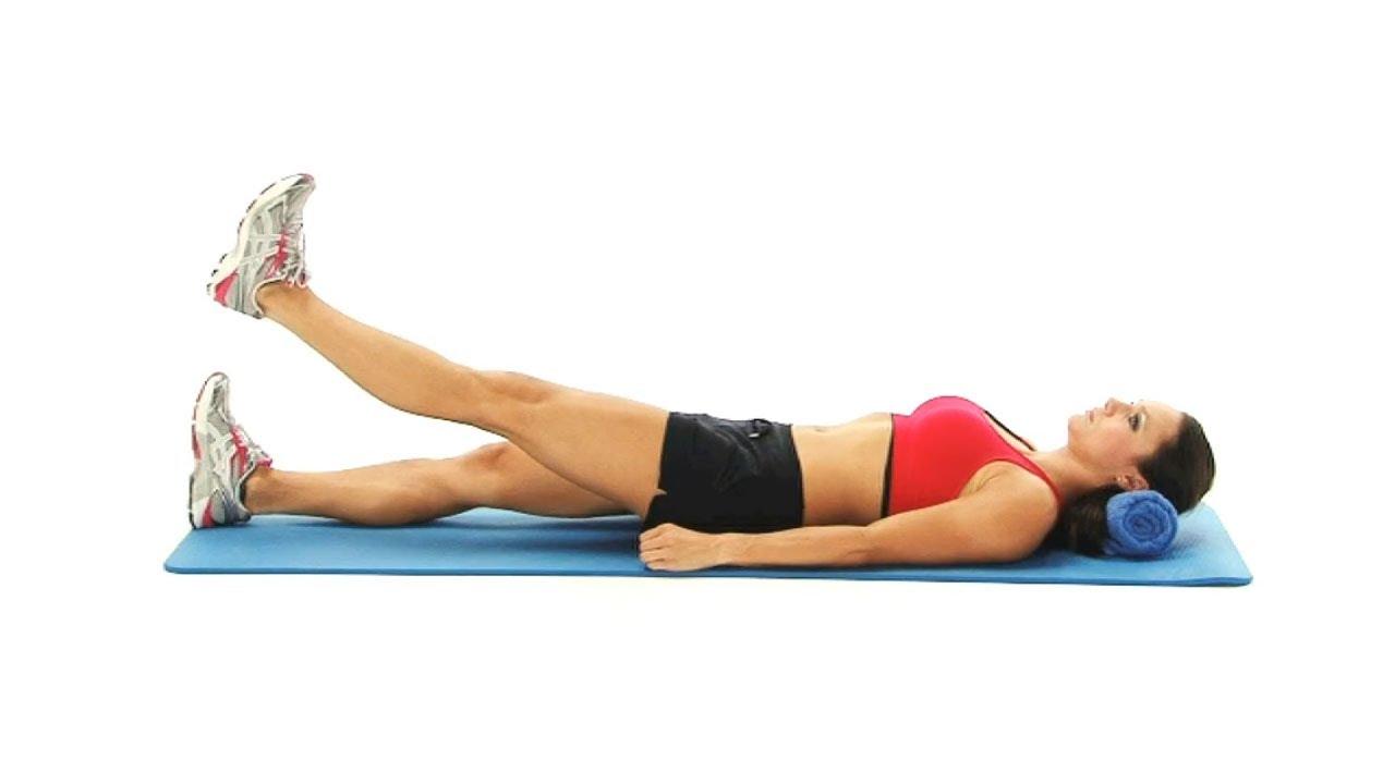 Bilderesultater for active straight leg raise